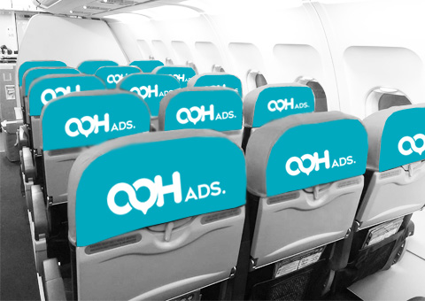 Cover Seat Flight Ads